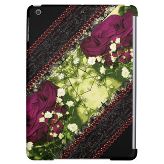 Gothic Rose Black Lace CricketDiane Goth Victorian iPad Air Cover