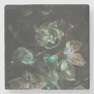 Gothic rose. Flower Stone Coaster