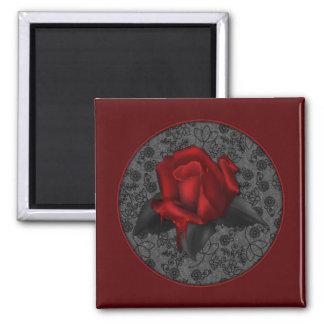 Gothic Rose Magnet
