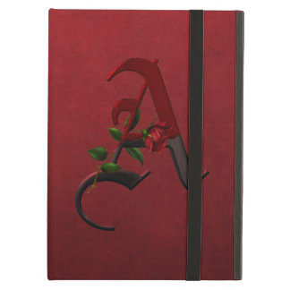 Gothic Rose Monogram A Case For iPad Air
