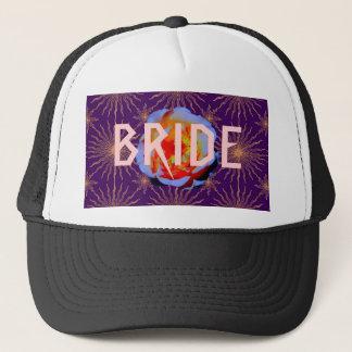 Gothic Rose Sunstar BRIDE hat