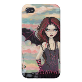 Gothic Rose Vampire Fairy iPhone 4 Case