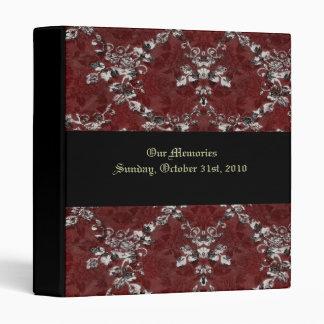 Gothic Roses Victorian Wedding Photo Album Binders