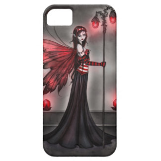 Gothic Ruby Fairy Fantasy Art iPhone Case