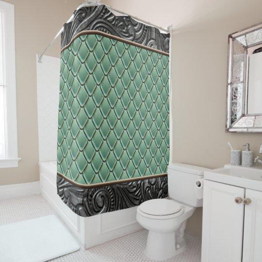 Gothic Sage Shower Curtain