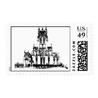 Gothic Saint Mark's Cathedral Postage