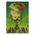 Gothic Skeleton ACEO Artists Trading Cards Business Card Templates