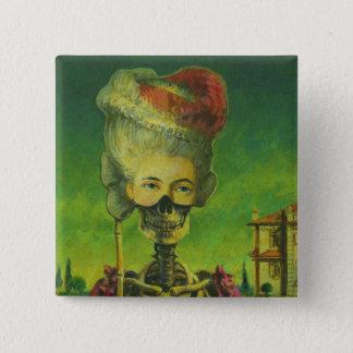 Gothic Skeleton Button