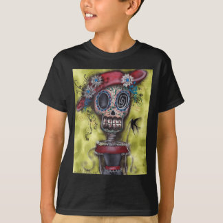 Gothic Skeleton Day of the Dead Shirt