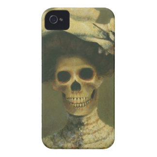 Gothic Skeleton  iPhone 4 case-mate Barely There iPhone 4 Case
