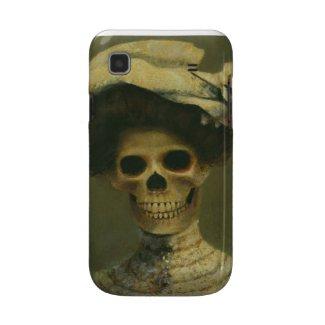 Gothic Skeleton Lady Samsung Galaxy S Case casematecase