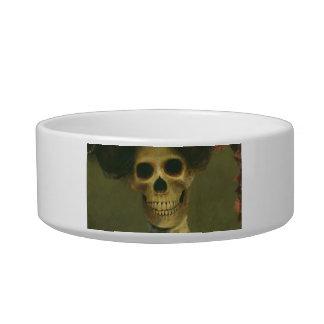 Gothic Skeleton Pet Bowl