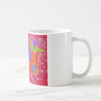 Gothic Skul pink orange carmine Coffee Mug