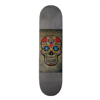Gothic Skull art skateboards