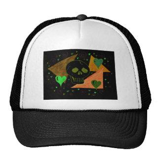 Gothic Skull black Trucker Hat
