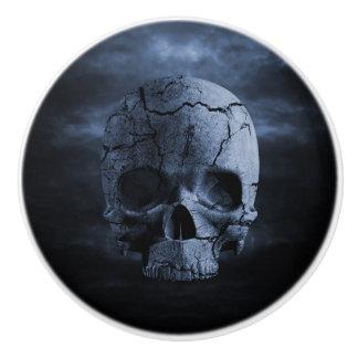 Gothic Skull Ceramic Knob