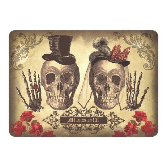 Gothic Wedding Invitations & Announcements | Zazzle