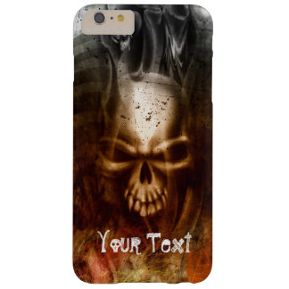Gothic Skull Customizable Barely There iPhone 6 Plus Case