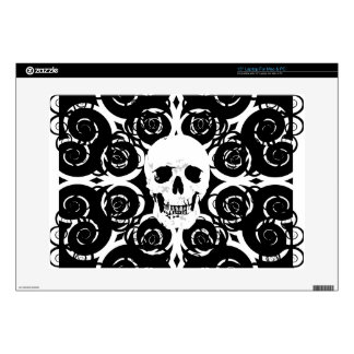 Gothic Skull Decals For Laptops