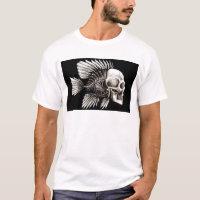 GOTHIC SKULL FISH T-Shirt