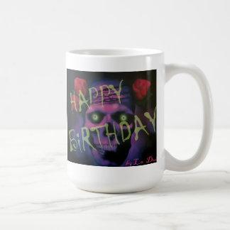 Gothic SkuLL Happy Birthday Mug