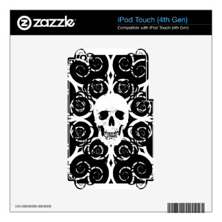 Gothic Skull iPod Touch 4G Skins