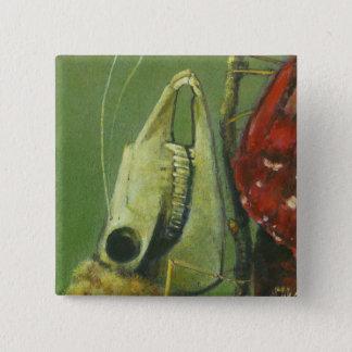 Gothic Skull Moth Button