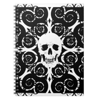Gothic Skull Notebook