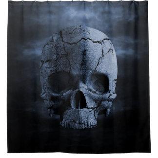 Gothic Skull Shower Curtain