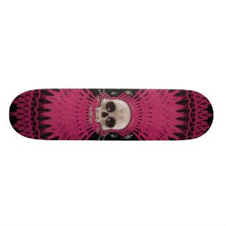Gothic Skull Tribal Fractal Design: Skateboard #4