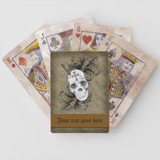 Gothic Skulls and Baroque Playing Cards