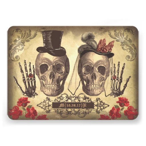 Save the date day of the dead | Theme - Mexican Wedding | Pinterest