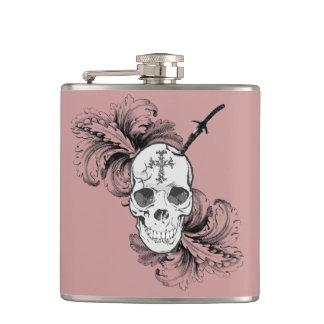 Gothic Skulls Flask