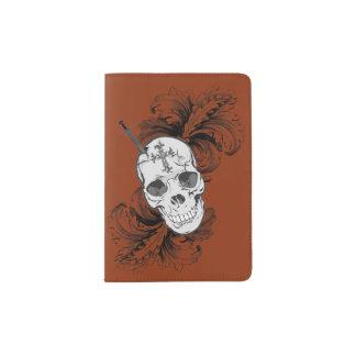 Gothic Skulls Passport Cover Passport Holder
