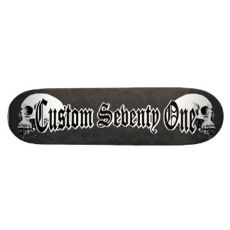 Gothic Skulls Skate Board Decks