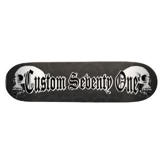 Gothic Skulls Skateboard Deck