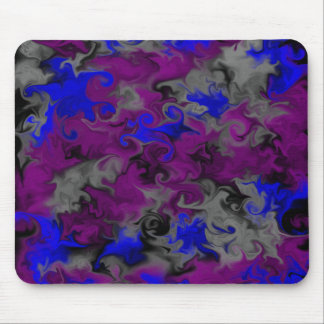 Gothic Smears and Swirls Mouse Pad