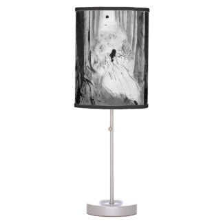Gothic Snow White lamp