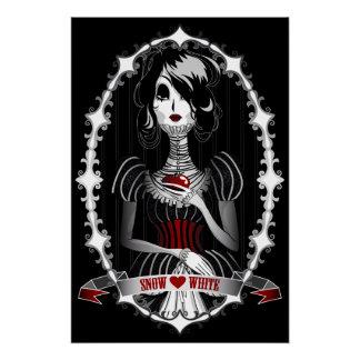 Gothic Snow White Poster