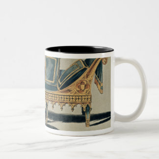 Gothic Sofa from the 'Repository of the Arts' Two-Tone Coffee Mug