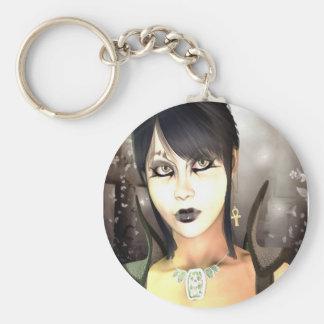 Gothic Sorceress Keychain