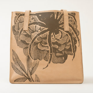 Gothic Spider On Flower Tote