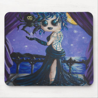 Gothic Spider Princess Mouse Pad
