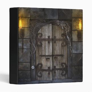Gothic Spooky Door Binder