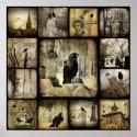 Gothic Squares print