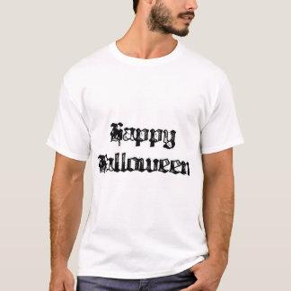 Gothic Stamp Happy Halloween T-Shirt