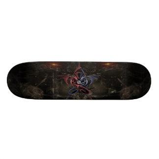Gothic Star Custom Skate Board