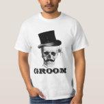 Gothic steampunk groom tshirts