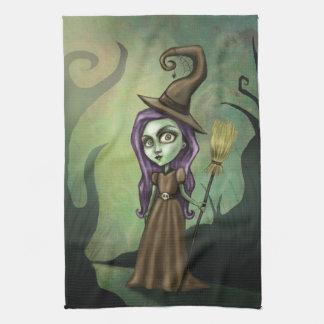 Gothic Steampunk Witch Kitchen Towels