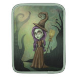 Gothic Steampunk Witch Sleeves For iPads